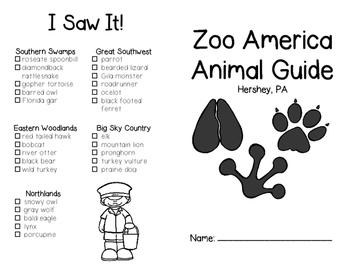 Zoo America: Animal Guide