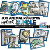 Zoo Animal BUNDLE Research Projects - Ten Zoo Animal Resea