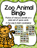 Zoo Animal Bingo--A Game for Your PK-1 Class