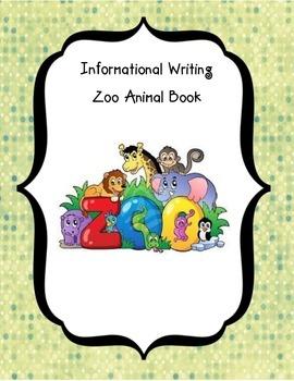 Zoo Animal Book