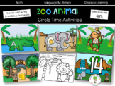 Zoo Animal Circle Time Activities