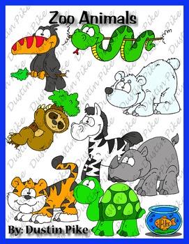 Zoo Animal Clip Art