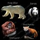 Zoo Animals Clip Art  Photo & Artistic Animal Real Clips Digital Stickers