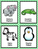 Zoo Animal Cognates Cards