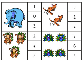 Zoo Animal Count and Clip