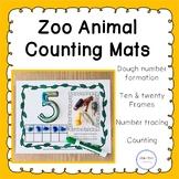 Zoo Animal Counting Mats