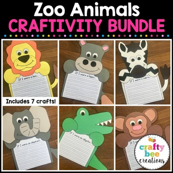 Zoo Animal Craftivity Set