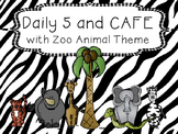 Zoo Animal Daily 5 and CAFE Set