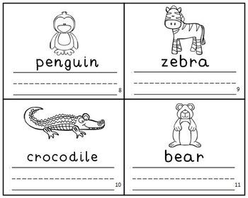 Zoo Animal Emergent Leveled Readers Mini-Books Set