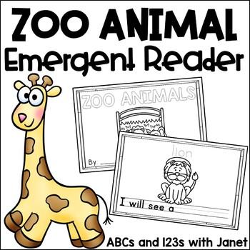 Zoo Animal Emergent Reader