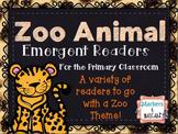 Zoo Animal Emergent Readers