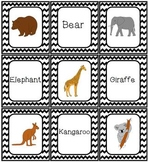 Zoo Animal Game Set Bingo Memory Dominoes Match