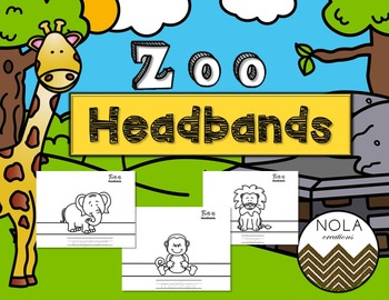 Zoo Animal Headbands
