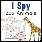 Zoo Animal I Spy