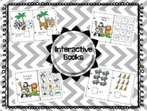 Zoo Animal Interactive Counting book