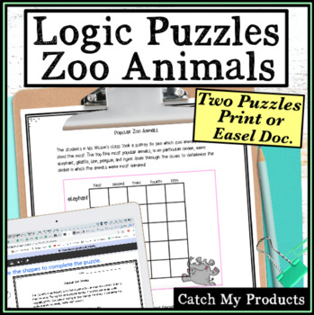 Logic Puzzle : Zoo Animal