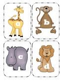 Zoo Animal Lowercase Flashcards