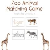 Zoo Animal Matching Game | Zoo Classroom Transformation