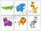 Zoo Animal Matching Game: Toddlers-3rd Grade