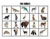 Zoo Animal Matching Set #2