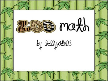 Zoo Animal Math