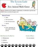 Zoo Animal Math Game - FREE