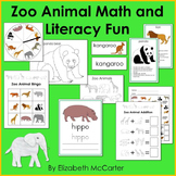 Zoo Animal Math and Literacy Fun