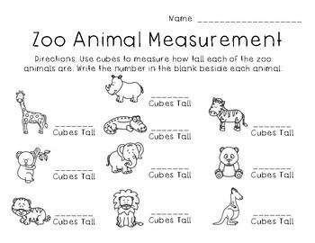 Zoo Animal Measurement