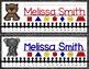Nameplates EDITABLE - Zoo Animals Decor