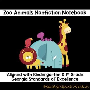 Zoo Animal Reading Notebook