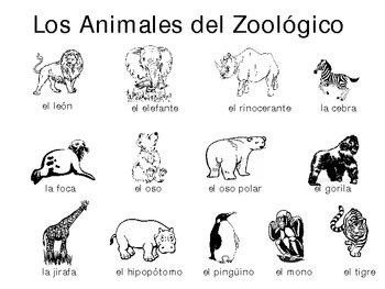 Zoo Animal Overhead or Table Top Board Game