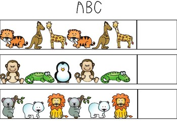 Zoo Animal Patterns