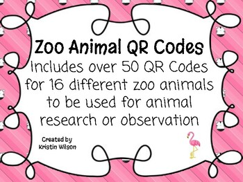 Zoo Animal QR Codes