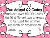 Zoo Animal QR Codes