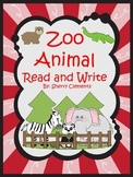 Zoo Animal Read and Write