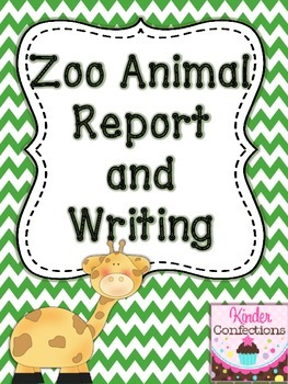 Zoo Animal Research Report and Writing