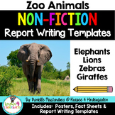 Zoo Animal Reports- Informational Non-Fiction Report Writing #4onthe4th