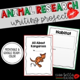 Zoo Animal Research Book (Color) Bundle