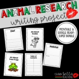 Zoo Animal Research Book Super Bundle