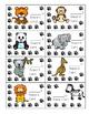 Zoo Animal Reward Cards