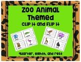 Zoo Animal Rhythm Clip Game