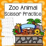 Zoo Animal Scissor Practice