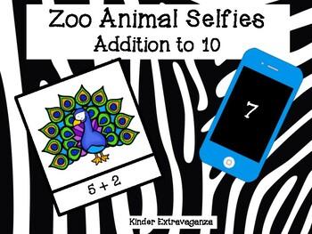 Zoo Animal Selfies! Addition to 10