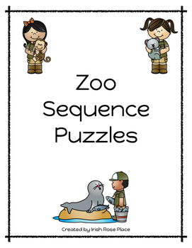 Zoo Animal Sequence Puzzles