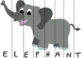 Zoo Animal Spellers - Elephant