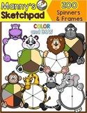 Zoo Animal Spinners & Frames