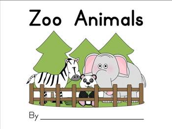 Zoo Animal Student Workbook