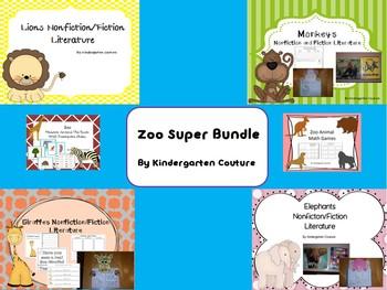 Zoo Animal Super Bundle