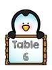 Zoo Animal Table Numbers *Freebie*