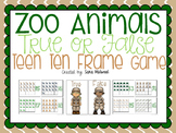 Zoo Animal Teen Ten Frame Center